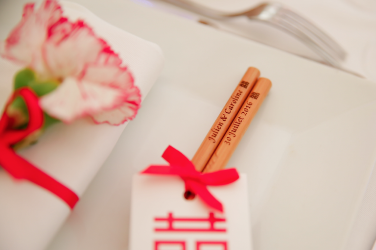 Cadeau baguettes chinoise