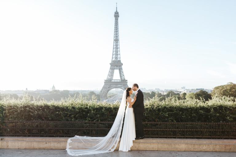 Tour Eiffel Mariés