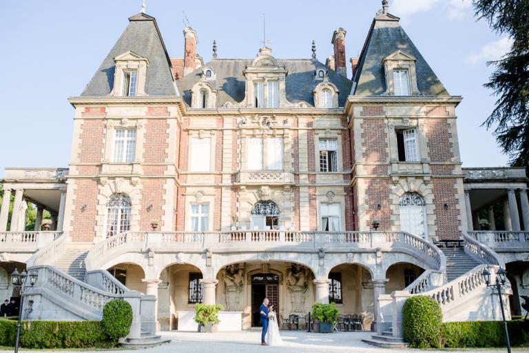 Photo de couple au Château Bouffémont