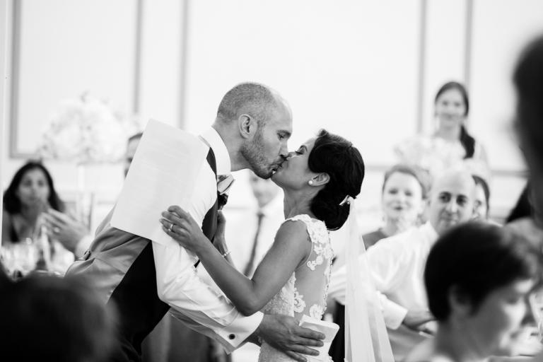 Baiser des mariés