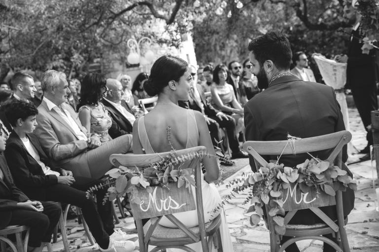 Photo de couple cérémonie laïque