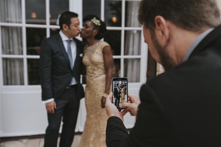Selfi mariage
