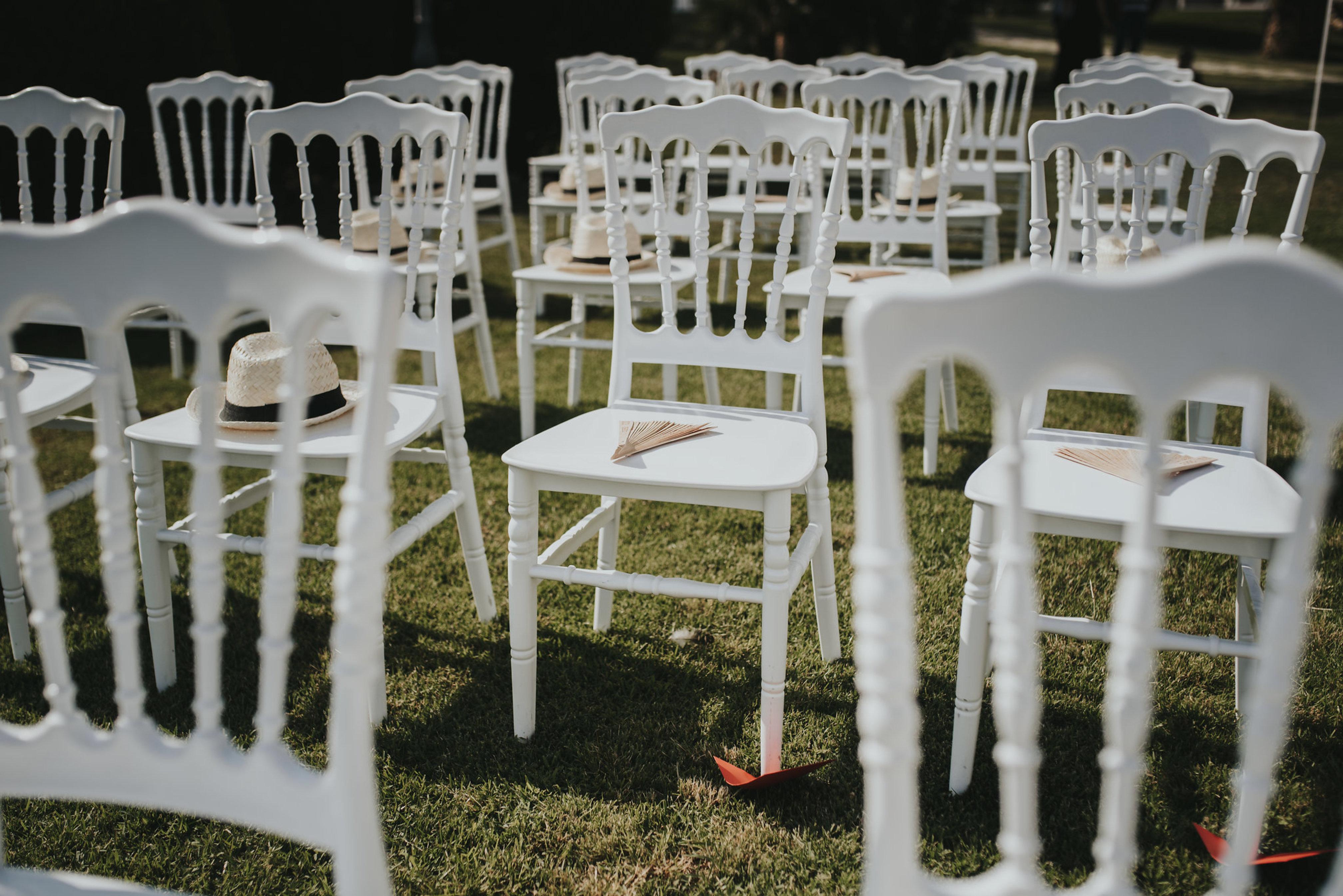 Chaises des invités