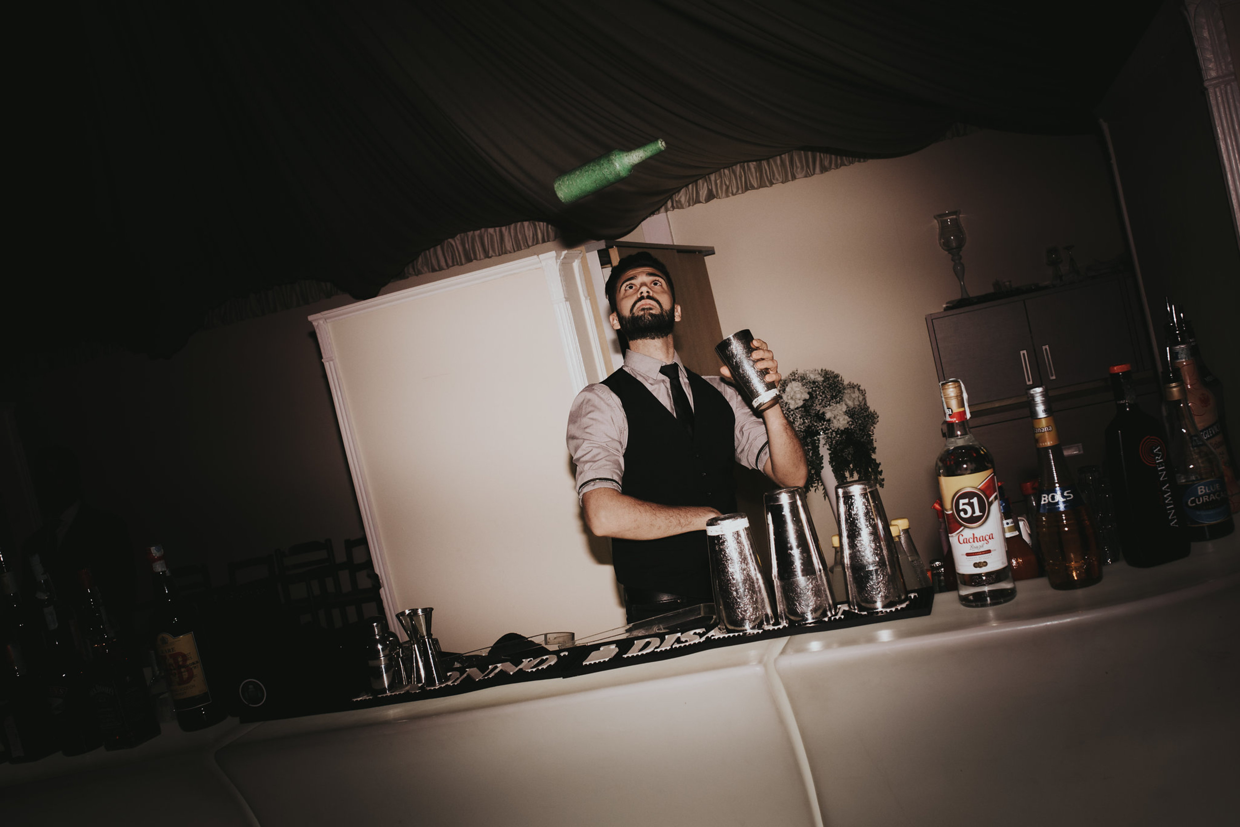 Animation flair bartender
