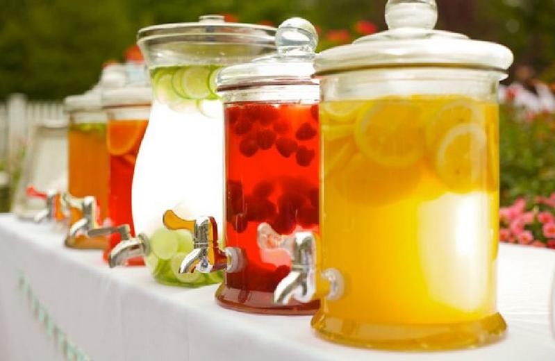 Bar à limonade mariage