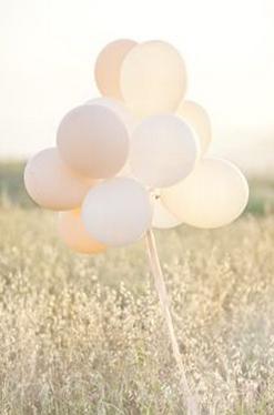 Grappe de ballon photo de mariage