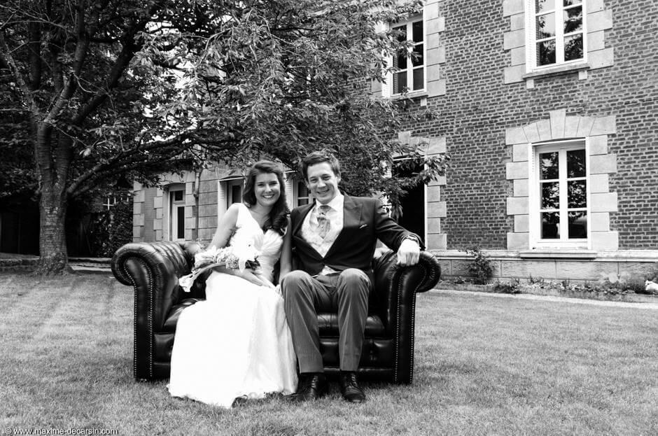 Fanny & Armand : les mariés