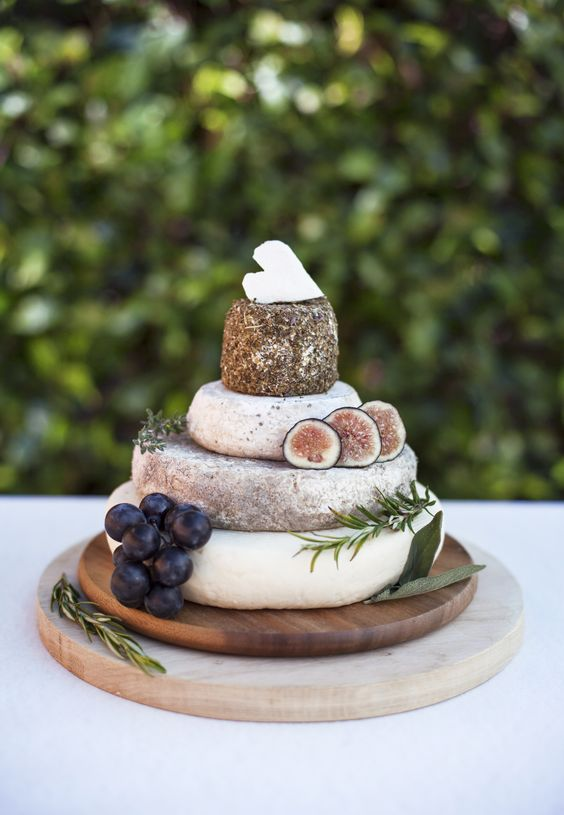 Wedding cake cheese
